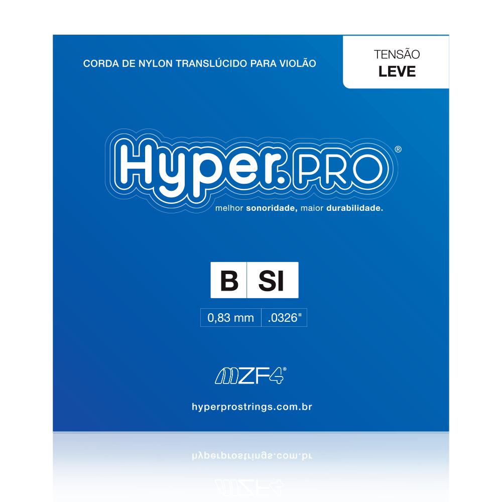 Hyper.PRO corda avulsa 2ª B/Si Violão Nylon Tensão Leve