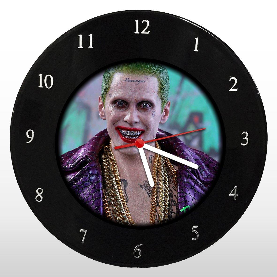 Coringa - Jared Leto - Relógio de Parede em Disco de Vinil - Mr. Rock