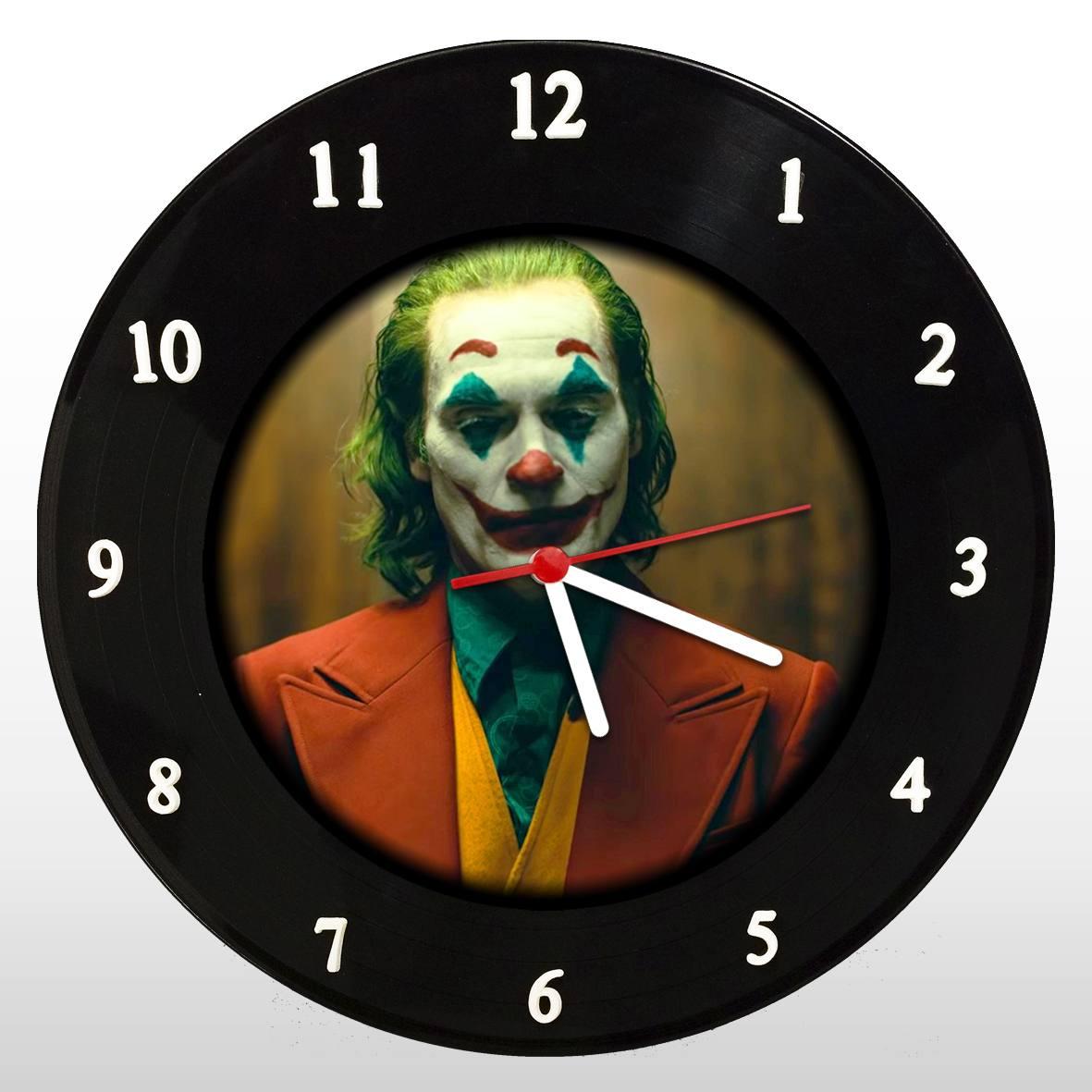 Coringa - Joaquin Phoenix - Relógio de Parede em Disco de Vinil - Mr. Rock