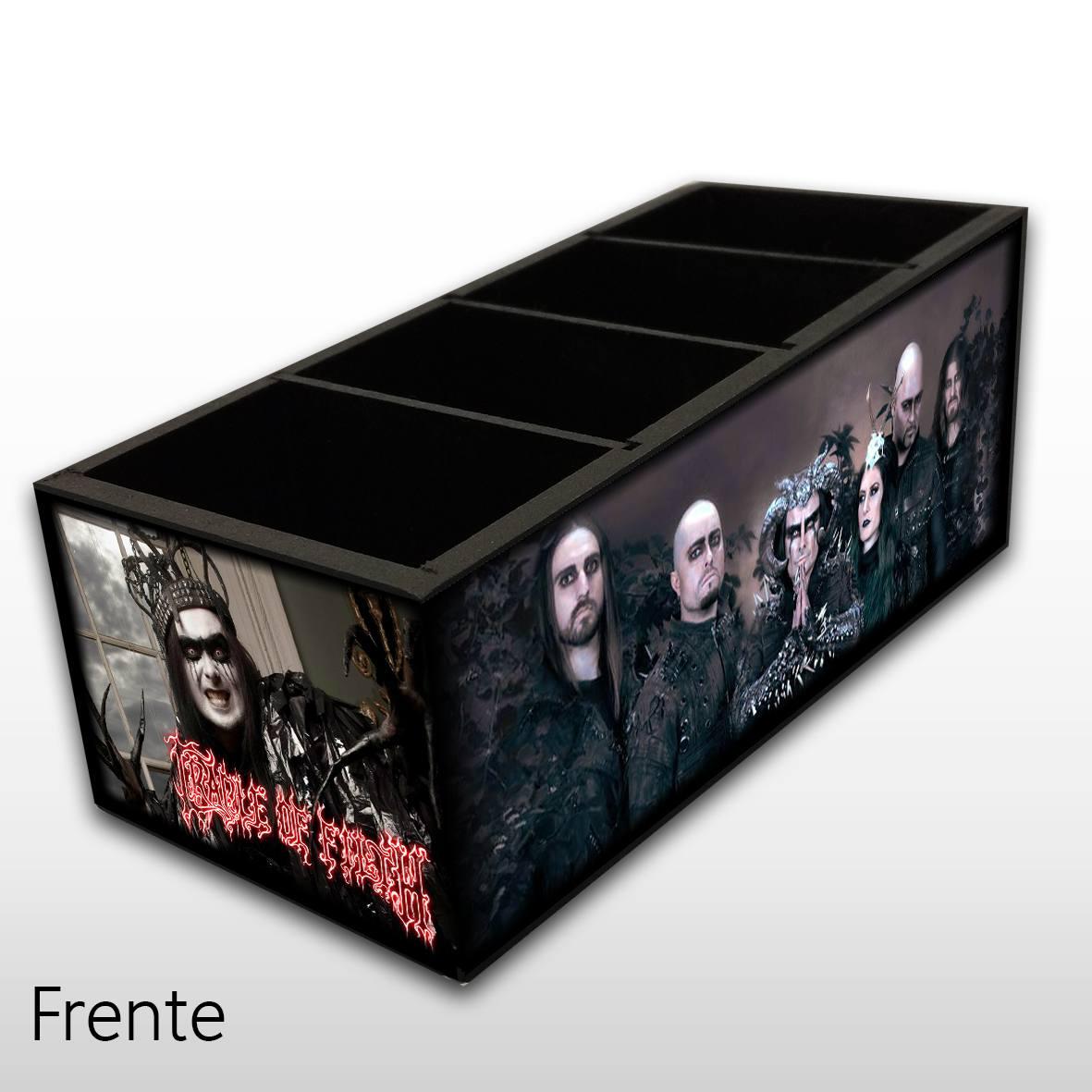 Cradle Of Filth - Porta Controles em Madeira MDF - 4 Espaços - Mr. Rock