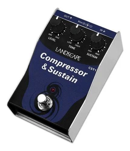Pedal para Guitarra Landscape CST-1 Compressor & Sustain
