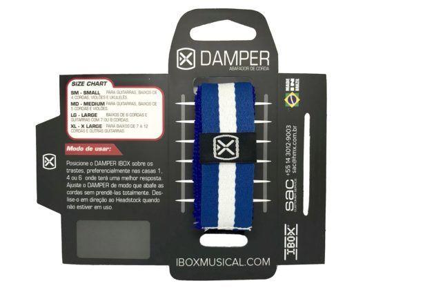 Damper Abafador em tecido para instrumentos de cordas - Ibox