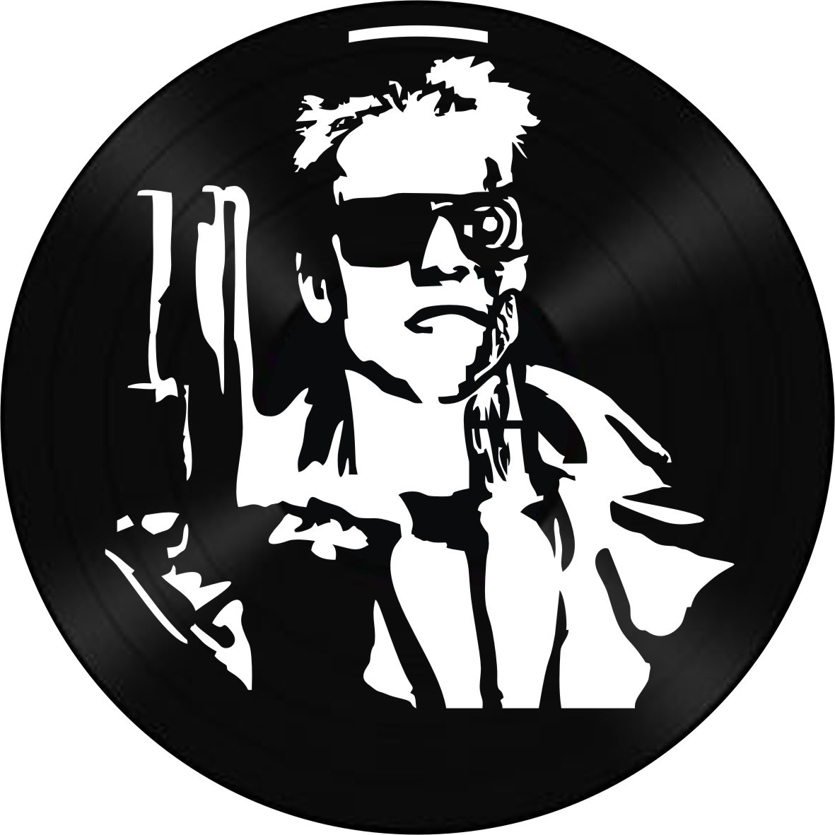 Disco de Vinil Decorativo Exterminador