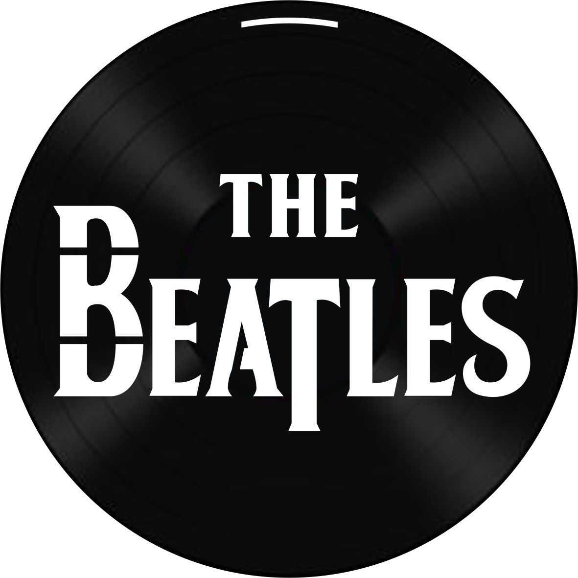 Disco de Vinil Decorativo The Beatles