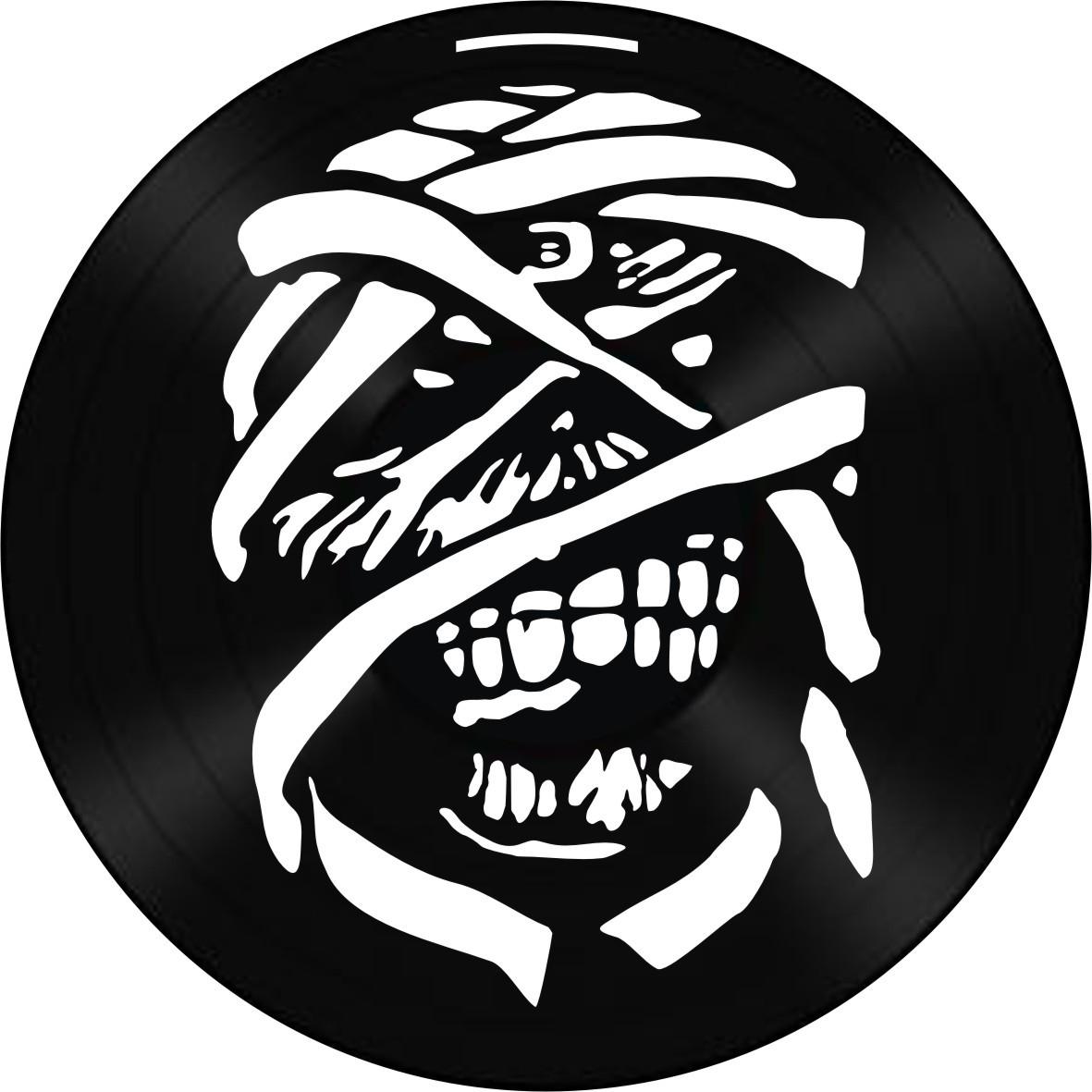 Disco de Vinil Decorativo Iron Maiden The Trooper
