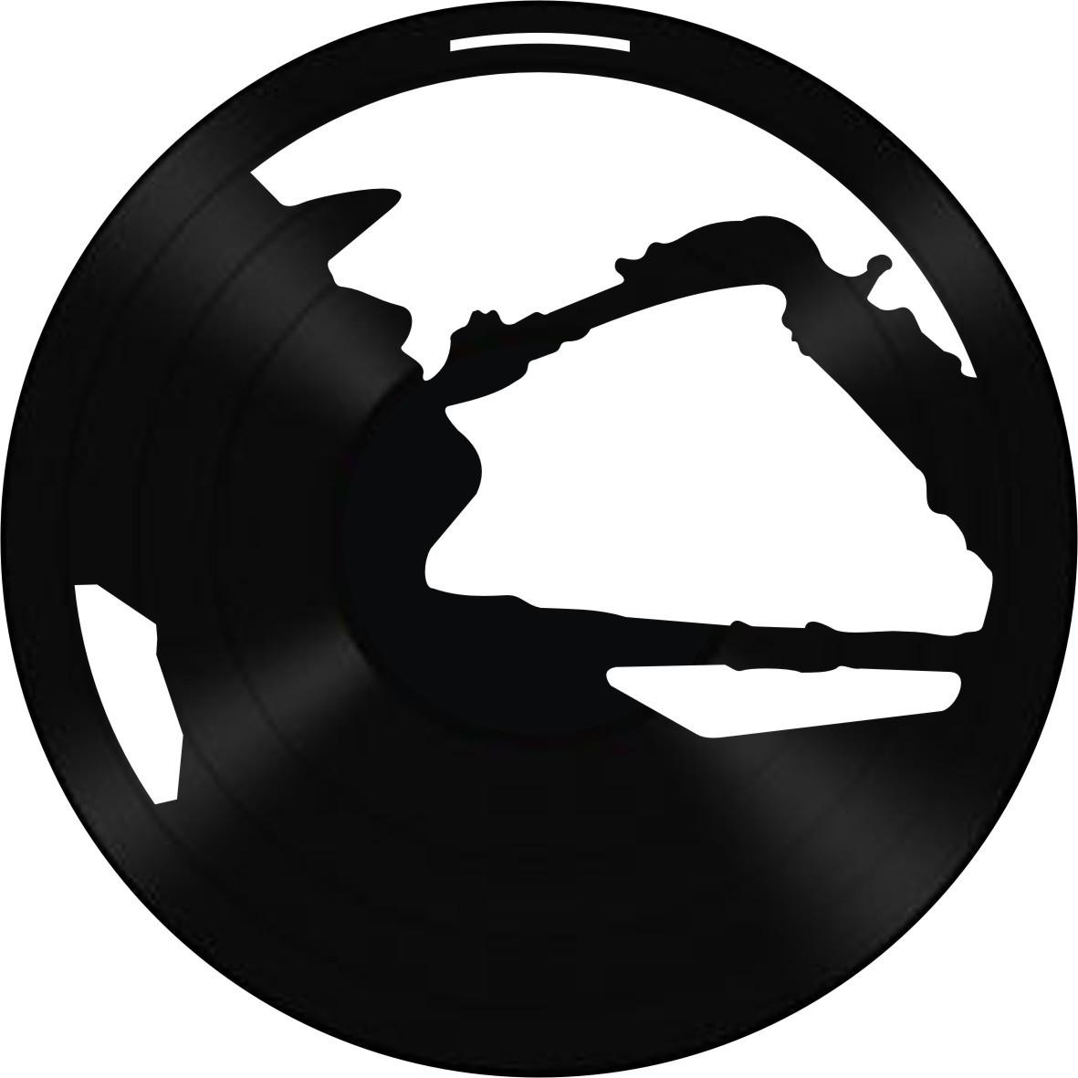 Disco de Vinil Decorativo Sax