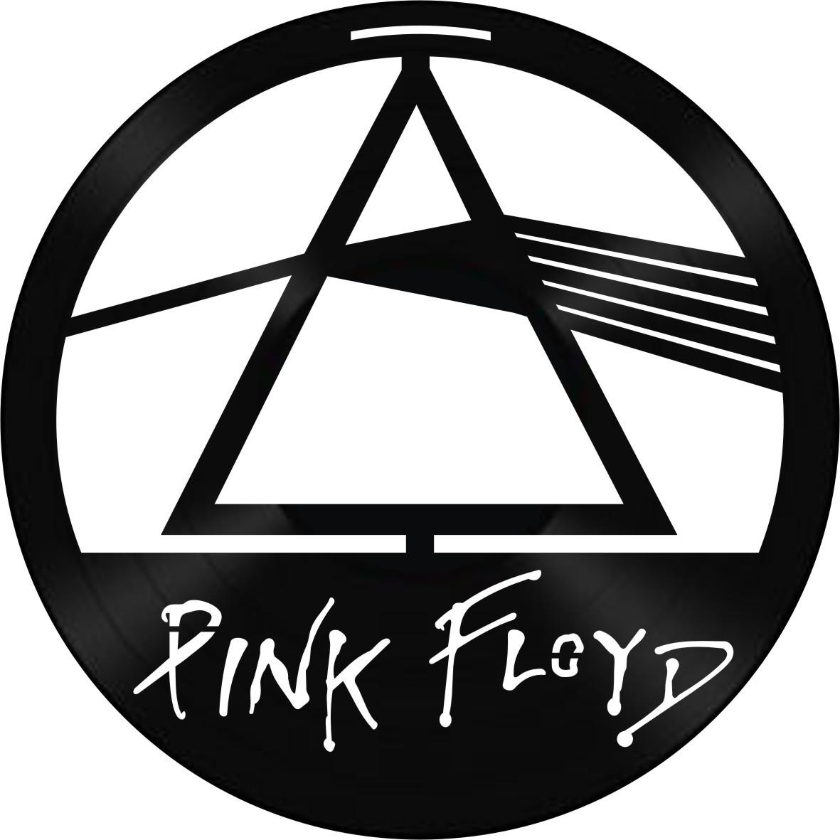 Disco de Vinil Decorativo Pink Floyd