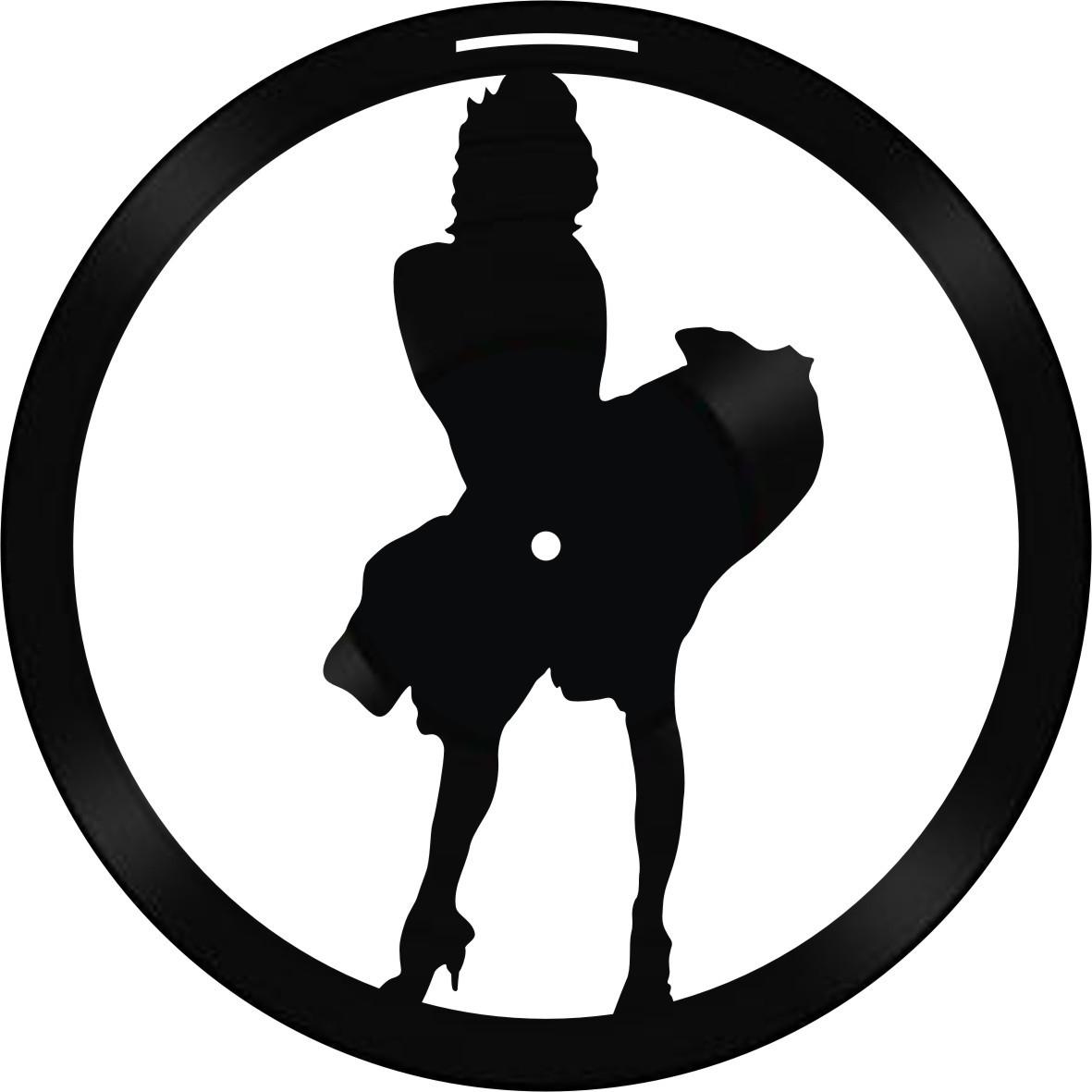 Disco de Vinil Decorativo Marilyn Monroe