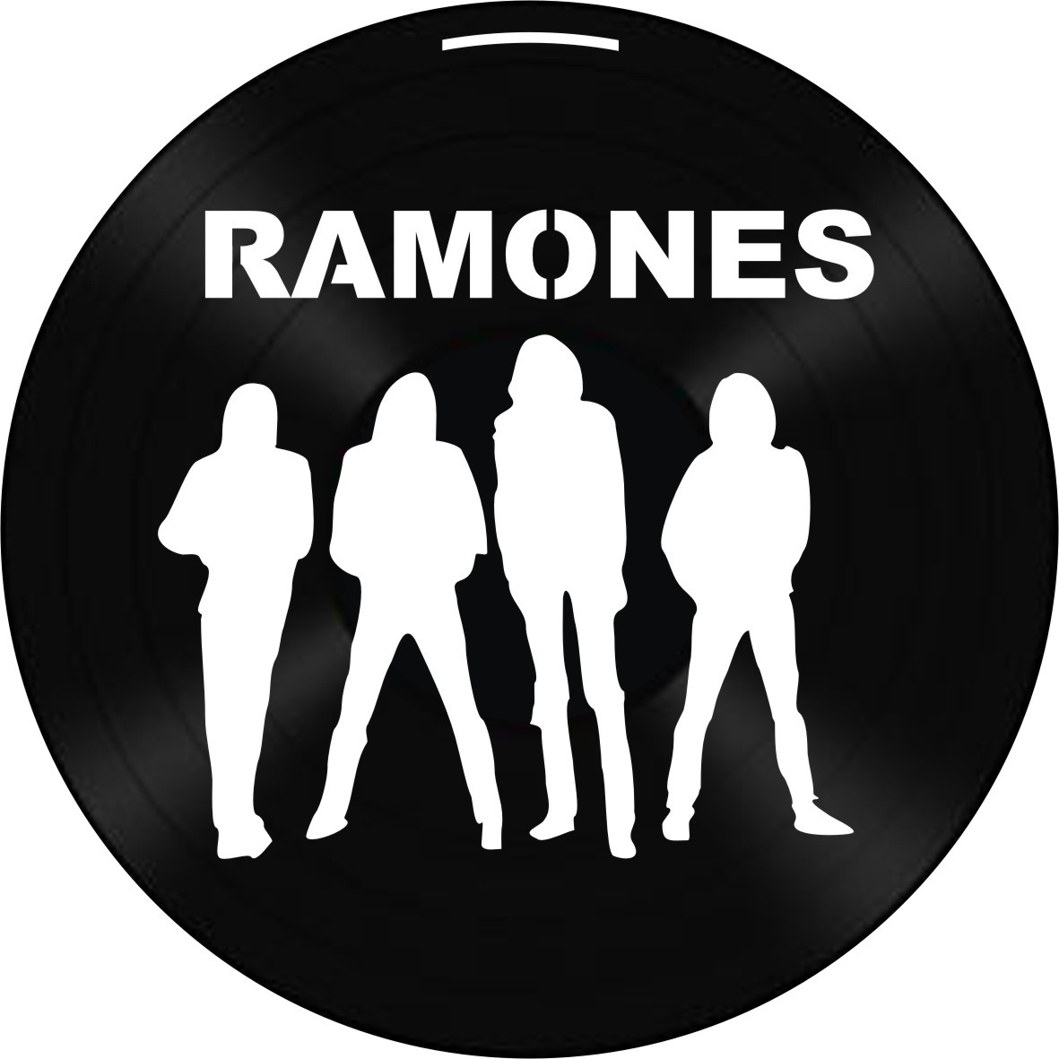 Disco de Vinil Decorativo Ramones