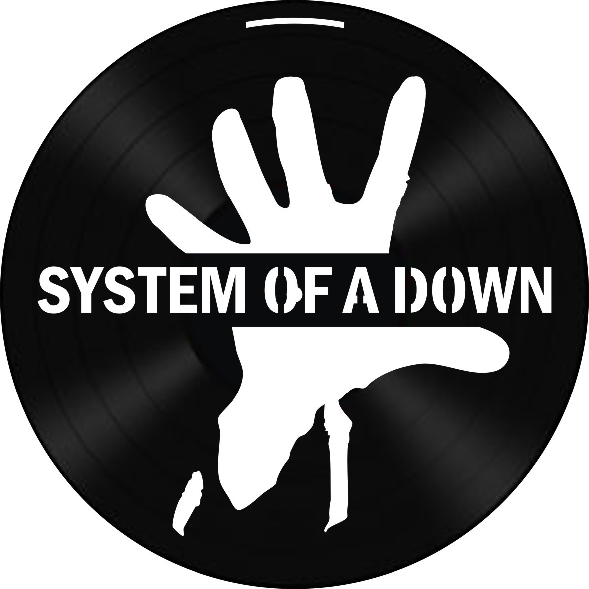 Disco de Vinil Decorativo System of a Down