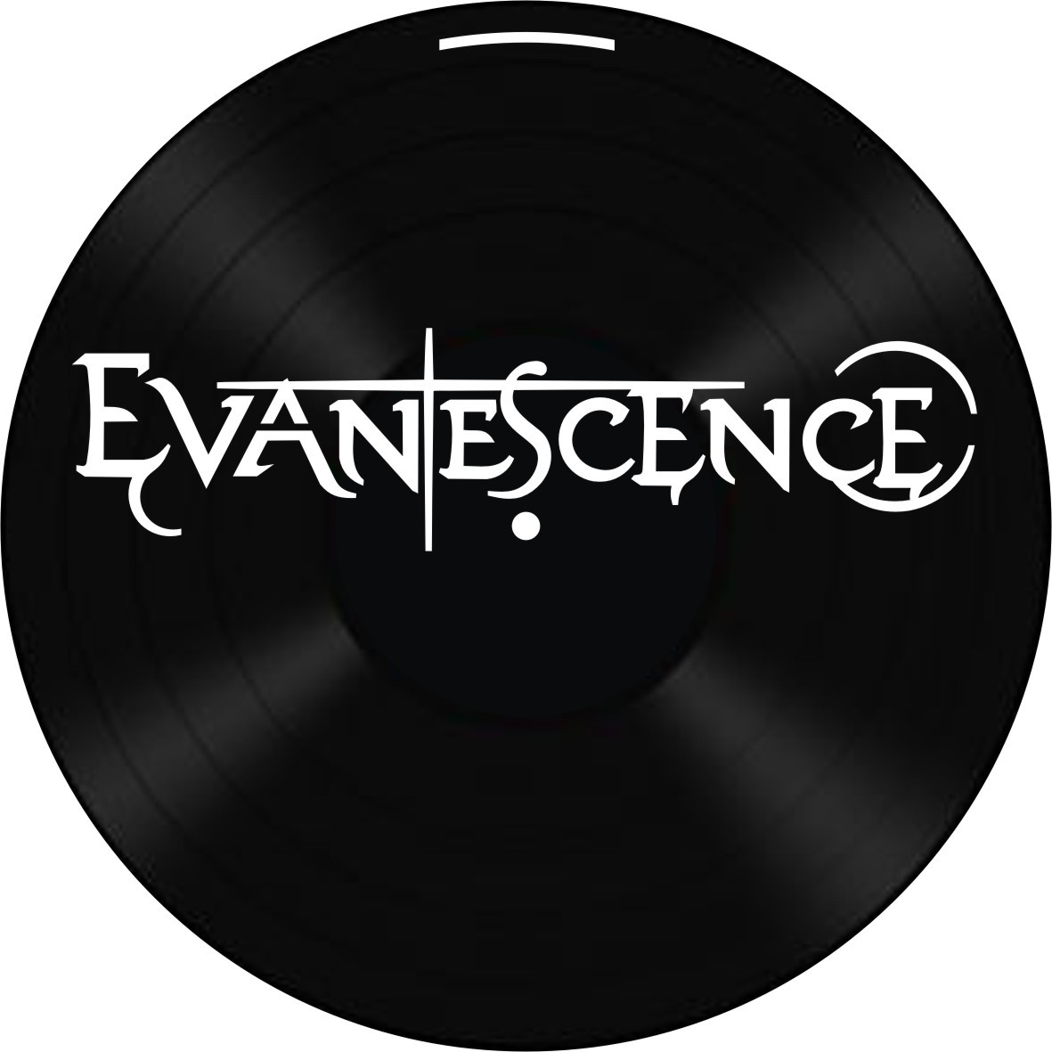 Disco de Vinil Decorativo Evanescence