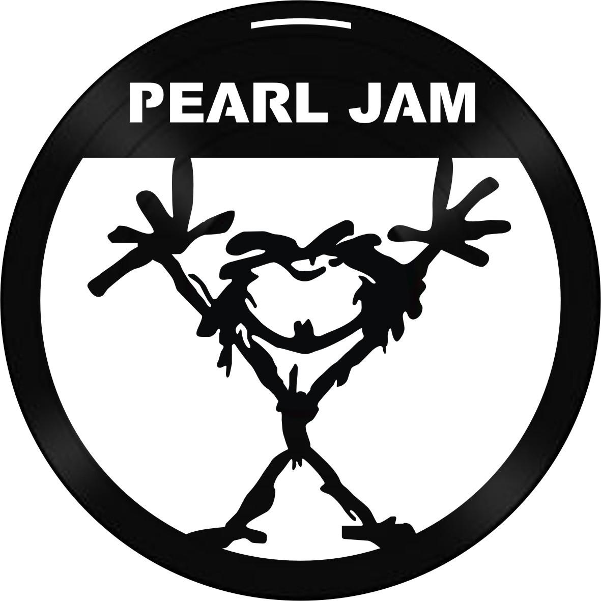 Disco de Vinil Decorativo Pearl Jam