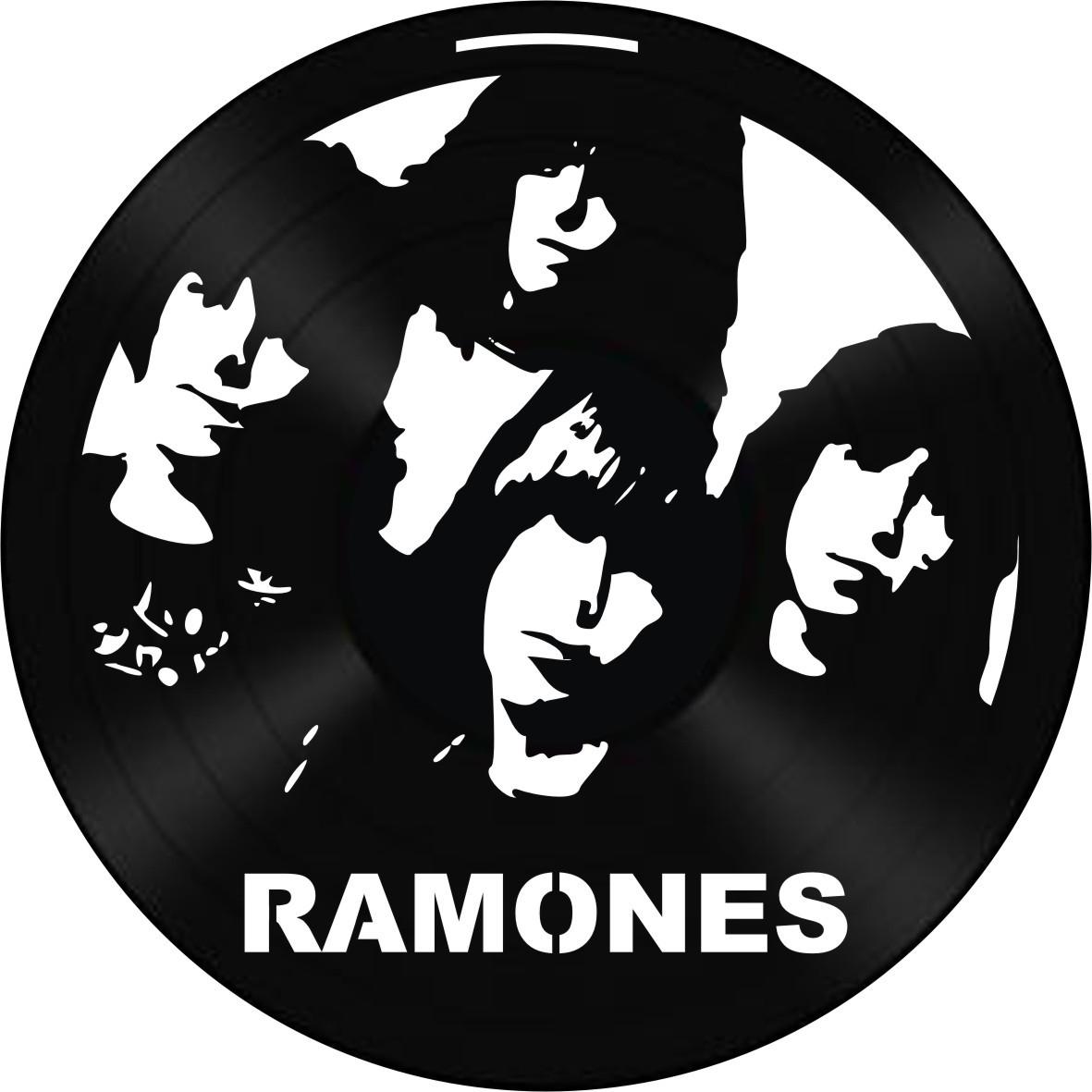 Disco de Vinil Decorativo Ramones