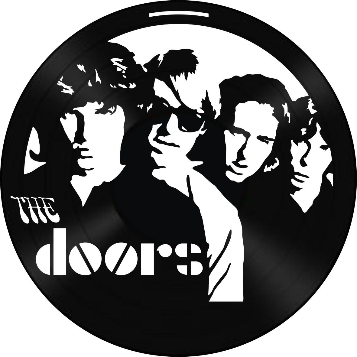 Disco de Vinil Decorativo The Doors