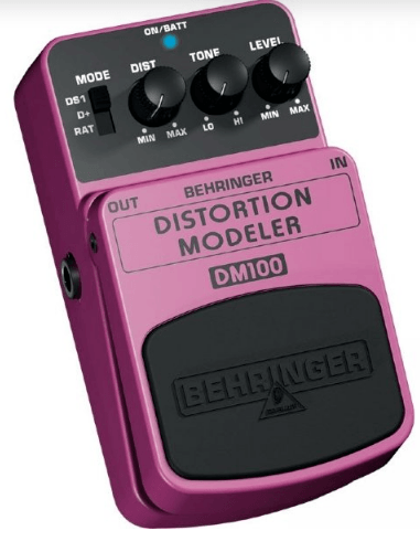 Pedal para Guitarra e Baixo Behringer DM-100 Distortion Modeler