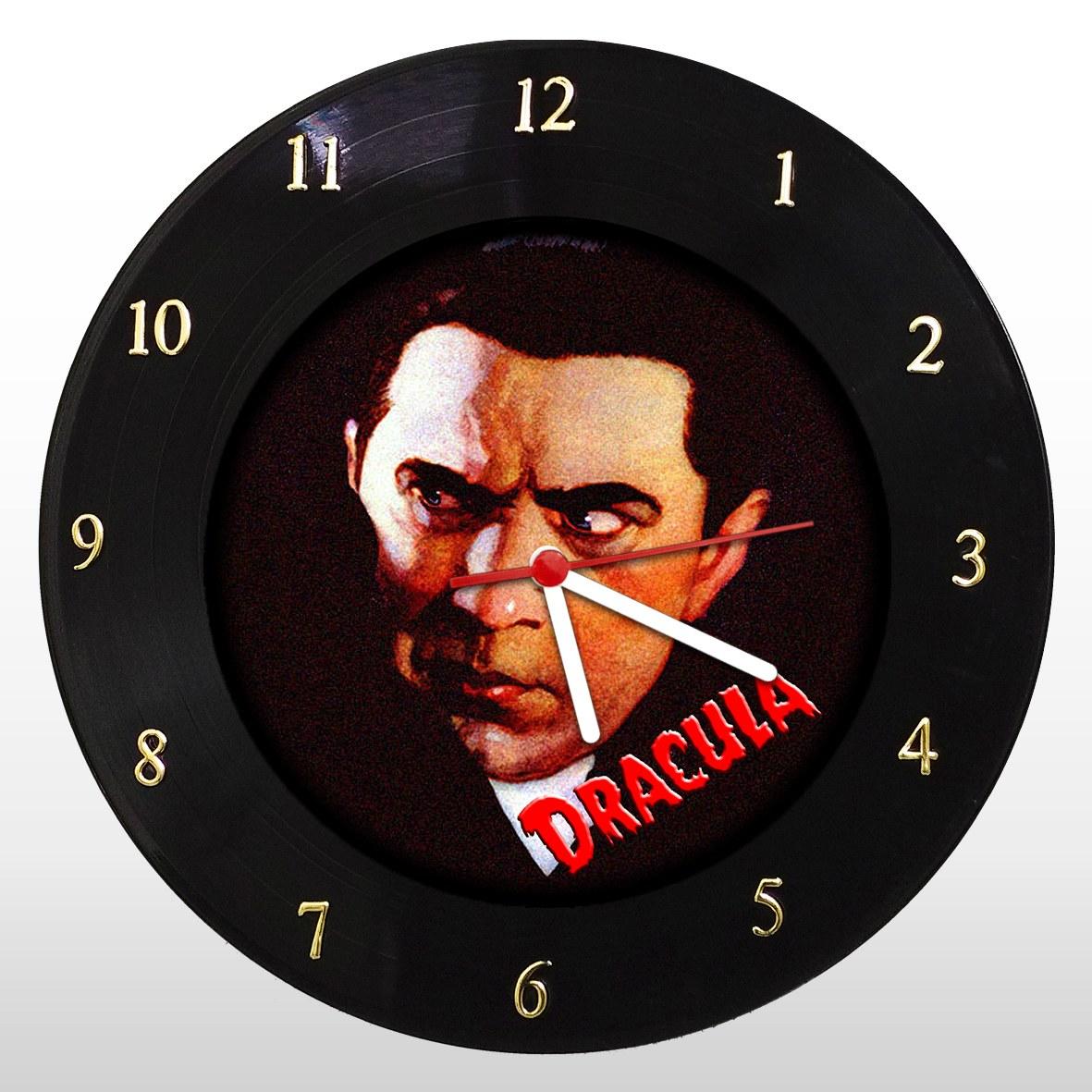 Drácula - Bela Lugosi - Relógio de Parede em Disco de Vinil - Mr. Rock