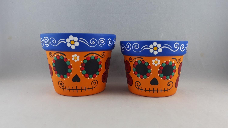 Dupla de vasos Caveira Mexicana