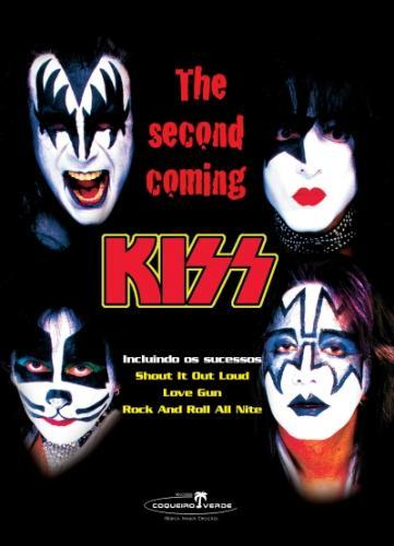 Dvd Kiss - The Second Coming