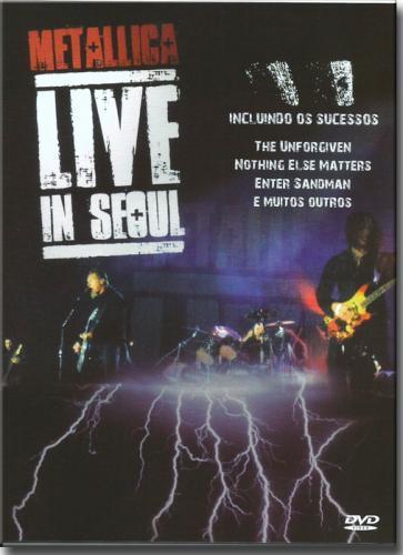 Dvd Metallica - Live in Seoul