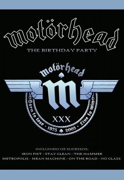 DVD Motorhead - The Birthday Party