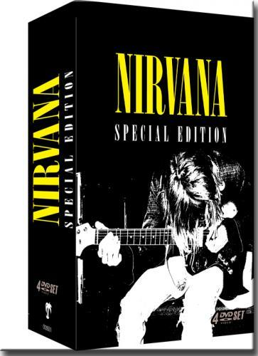 Dvd Nirvana - Special Edition - (box Set 4 Dvds)