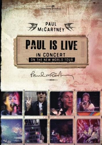 Dvd Paul Mccartney - Paul is Live