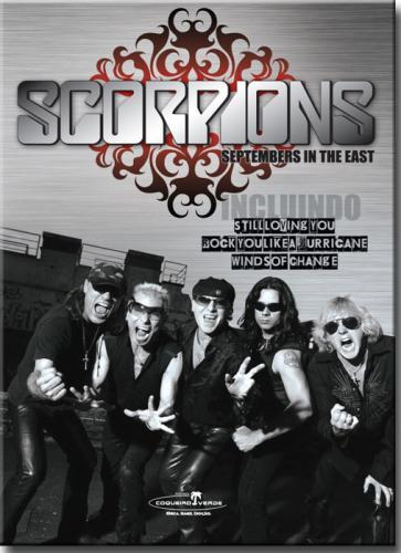 Dvd Scorpions - Septembers in The East