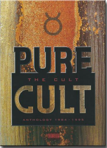 Dvd The Cult - Anthology 1984 - 1995