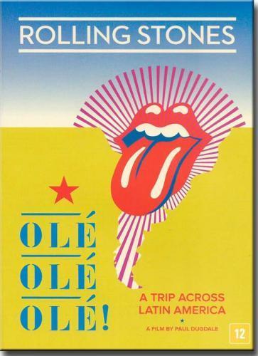 Dvd The Rolling Stones-olé Olé Olé! - a Trip Across Latin America