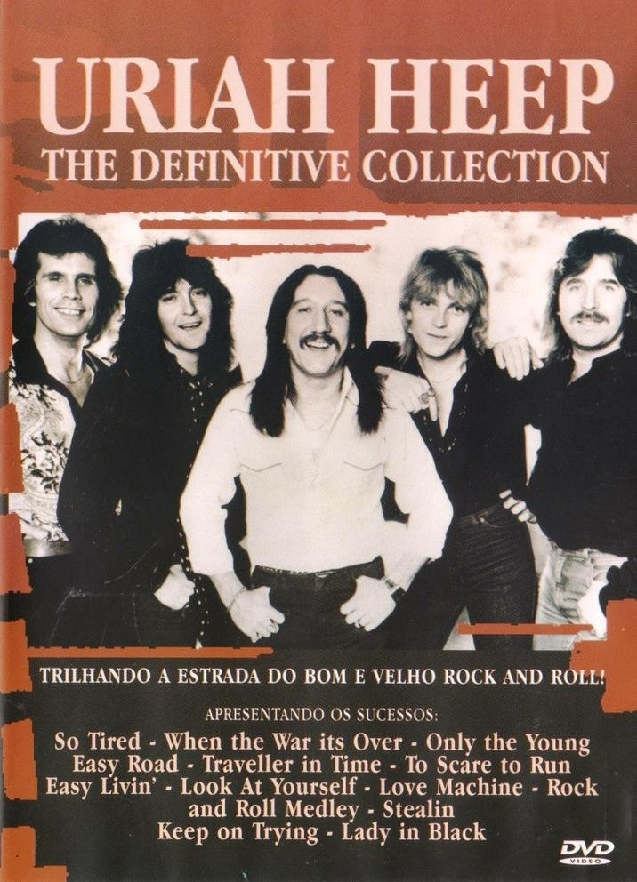 DVD Uriah Heep - The Definitive Collection