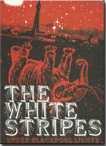 Dvd White Stripes - Under Blackpool Lights