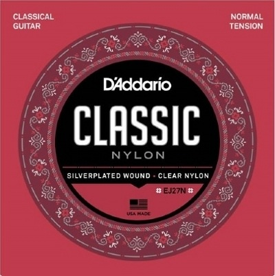 Encordoamento D'ADDARIO EJ27N Tensão Normal Violão Nylon