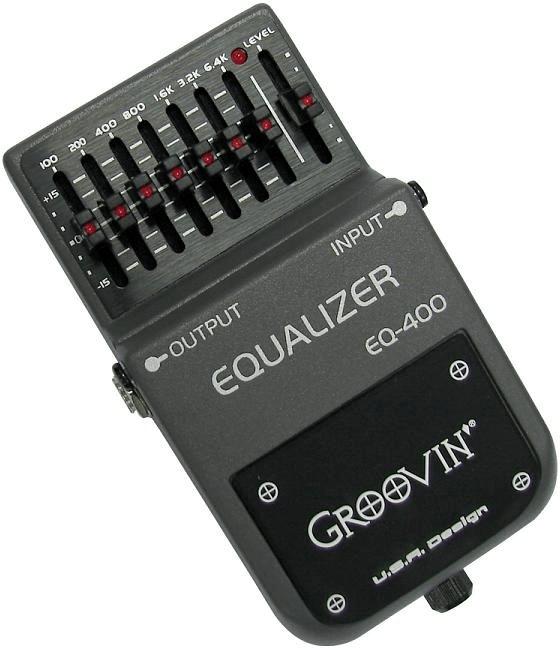 Pedal para Guitarra Groovin EQ-400 Equalizer