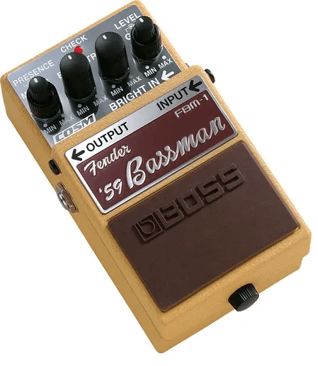 Pedal para Guitarra Boss FBM1 Fender Bassman