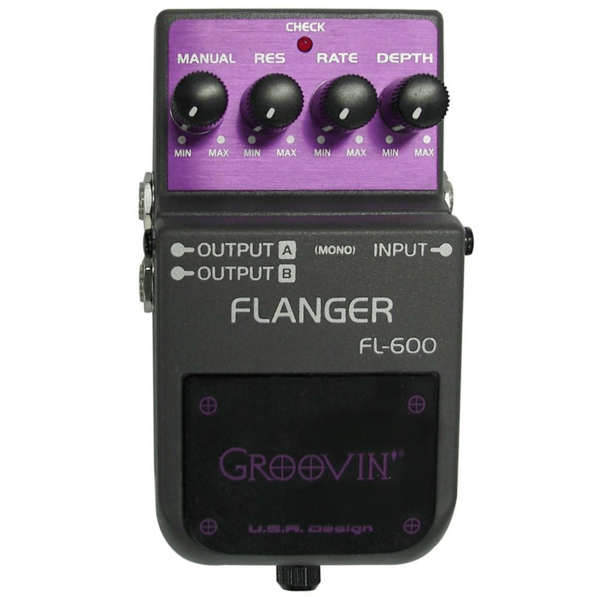 Pedal para Guitarra Groovin FL-600 Flanger