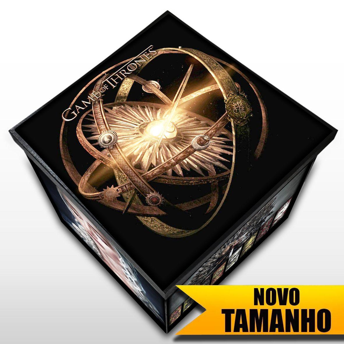 Game of Thrones - Caixa em MDF - Tamanho Grande - Mr. Rock