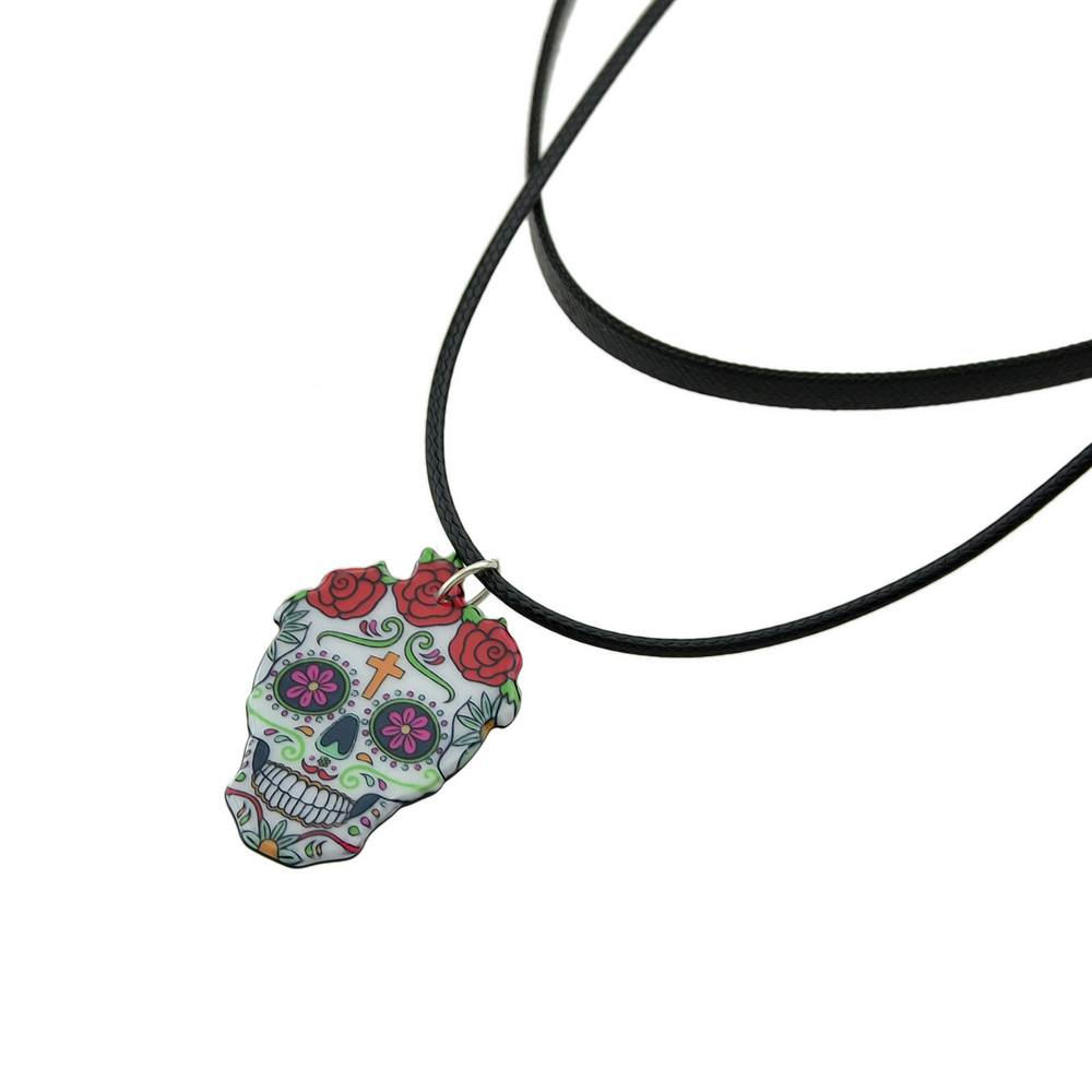 Gargantilha Caveira Mexicana - SkullAchando