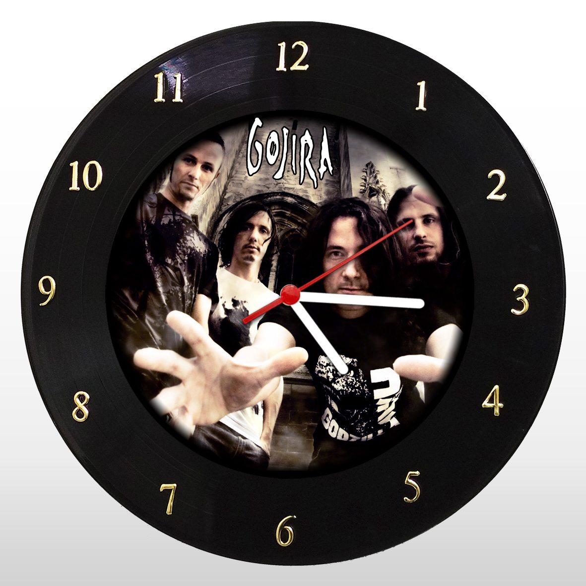 Gojira - Relógio de Parede em Disco de Vinil - Mr. Rock