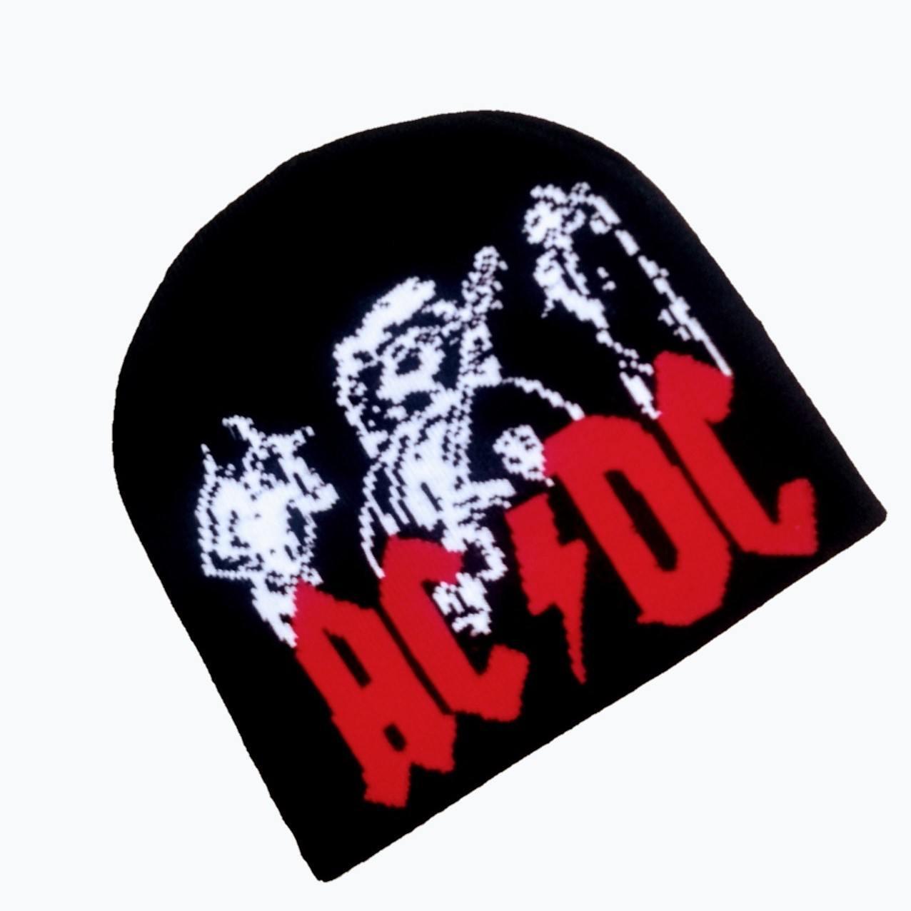 Gorro de lã Touca unissex AC DC