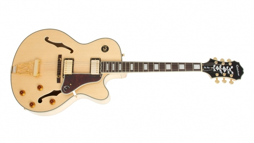Guitarra Epiphone Emperor II Joe Pass Natural