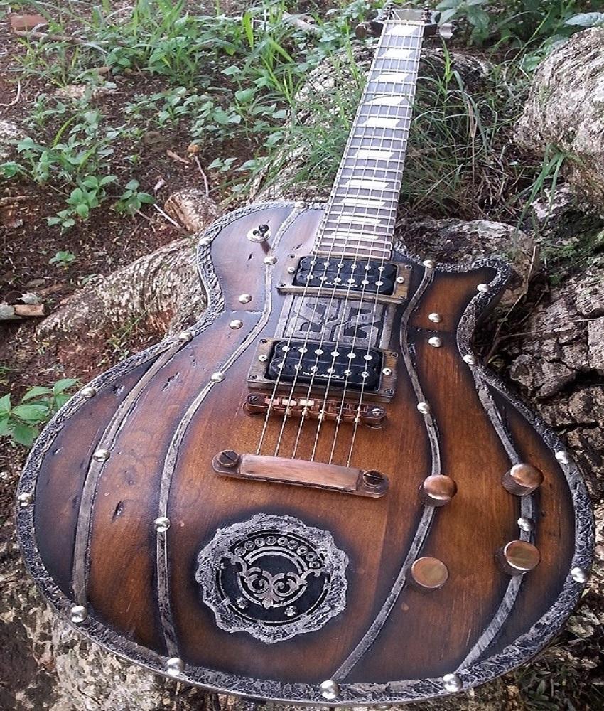 """Guitarra Les Paul Nordic """"SUPREME"""" Hot Machine Custom"""