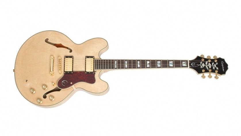 Guitarra Semi Acústica Epiphone Sheraton II PRO Natural