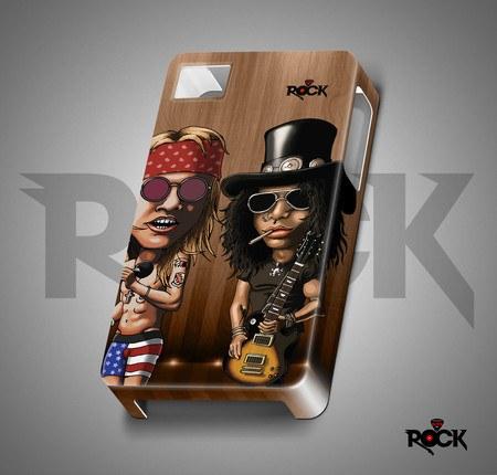 Capa de Celular Exclusiva Mitos do Rock Guns n' Roses