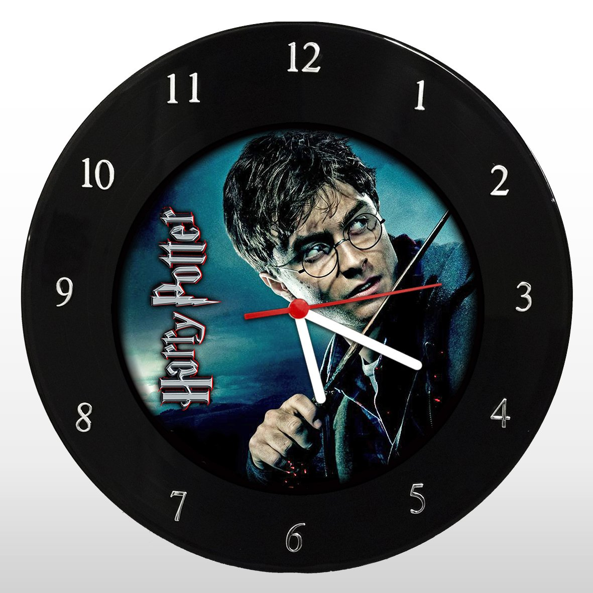 Harry Potter - Relógio de Parede em Disco de Vinil - Mr. Rock