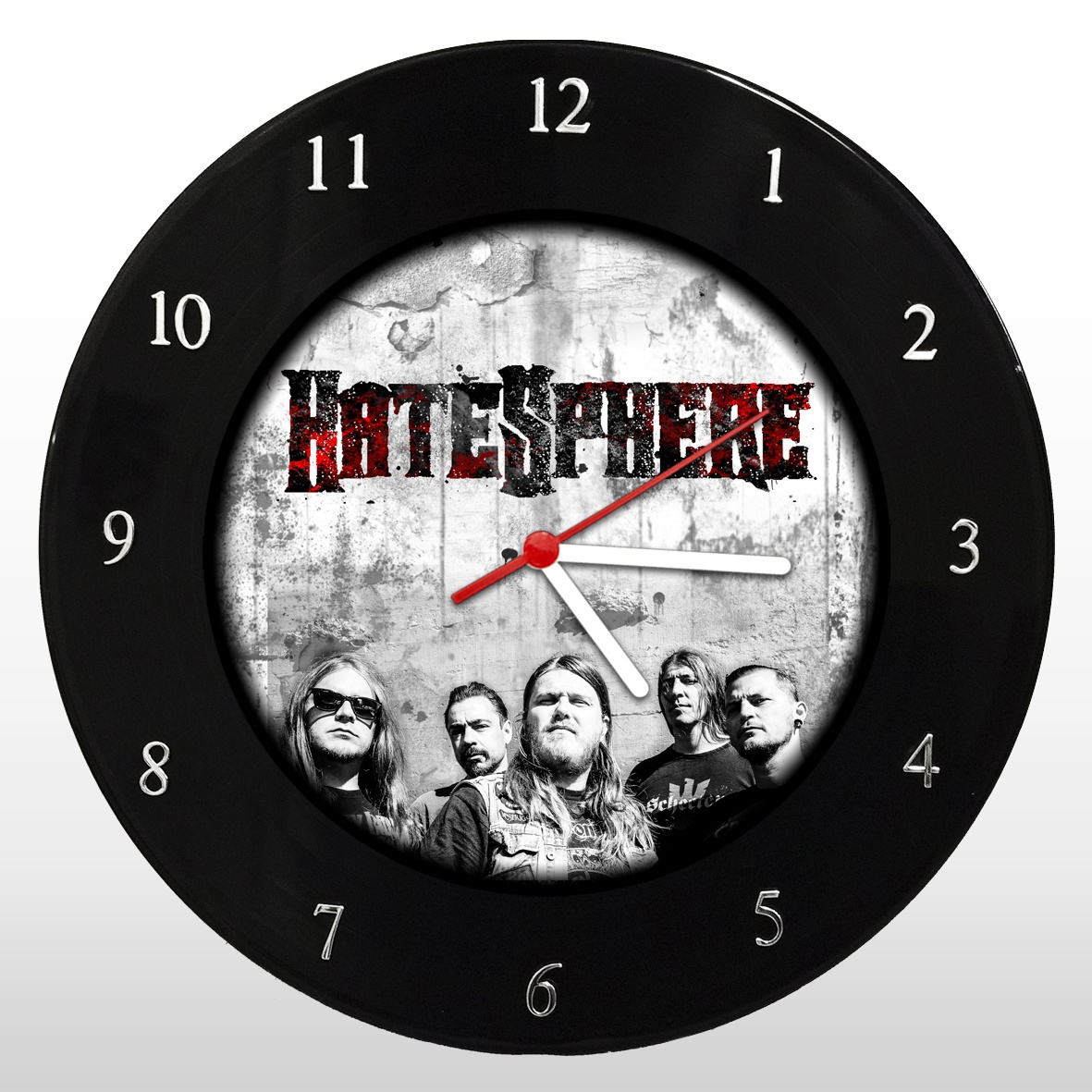 HateSphere - Relógio de Parede em Disco de Vinil - Mr. Rock