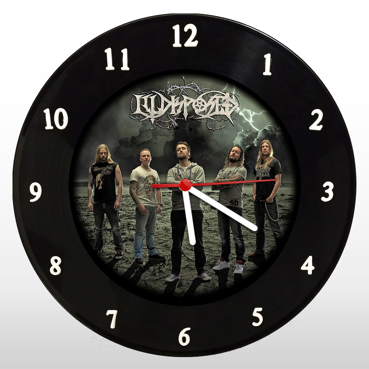 Illdisposed - Relógio de Parede em Disco de Vinil - Mr. Rock