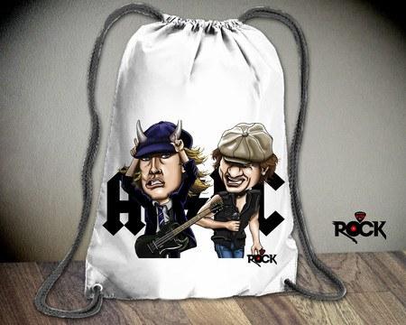 Mochila Saco Mitos do Rock AC/DC