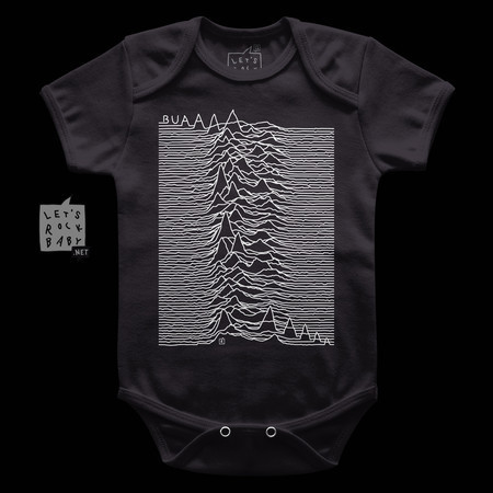 Body Infantil Let's Rock Baby Joy Division Buá