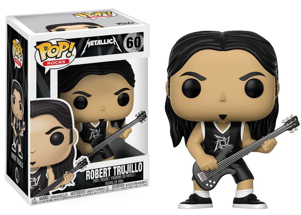 Funko Pop! Robert Trujillo Metallica