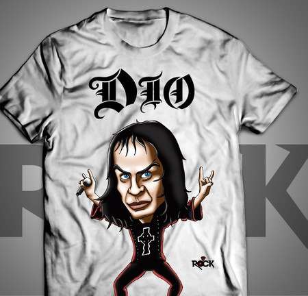 Camiseta Exclusiva Mitos do Rock DIO